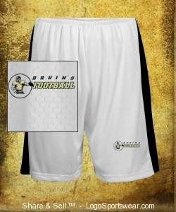 White Shorts Design Zoom